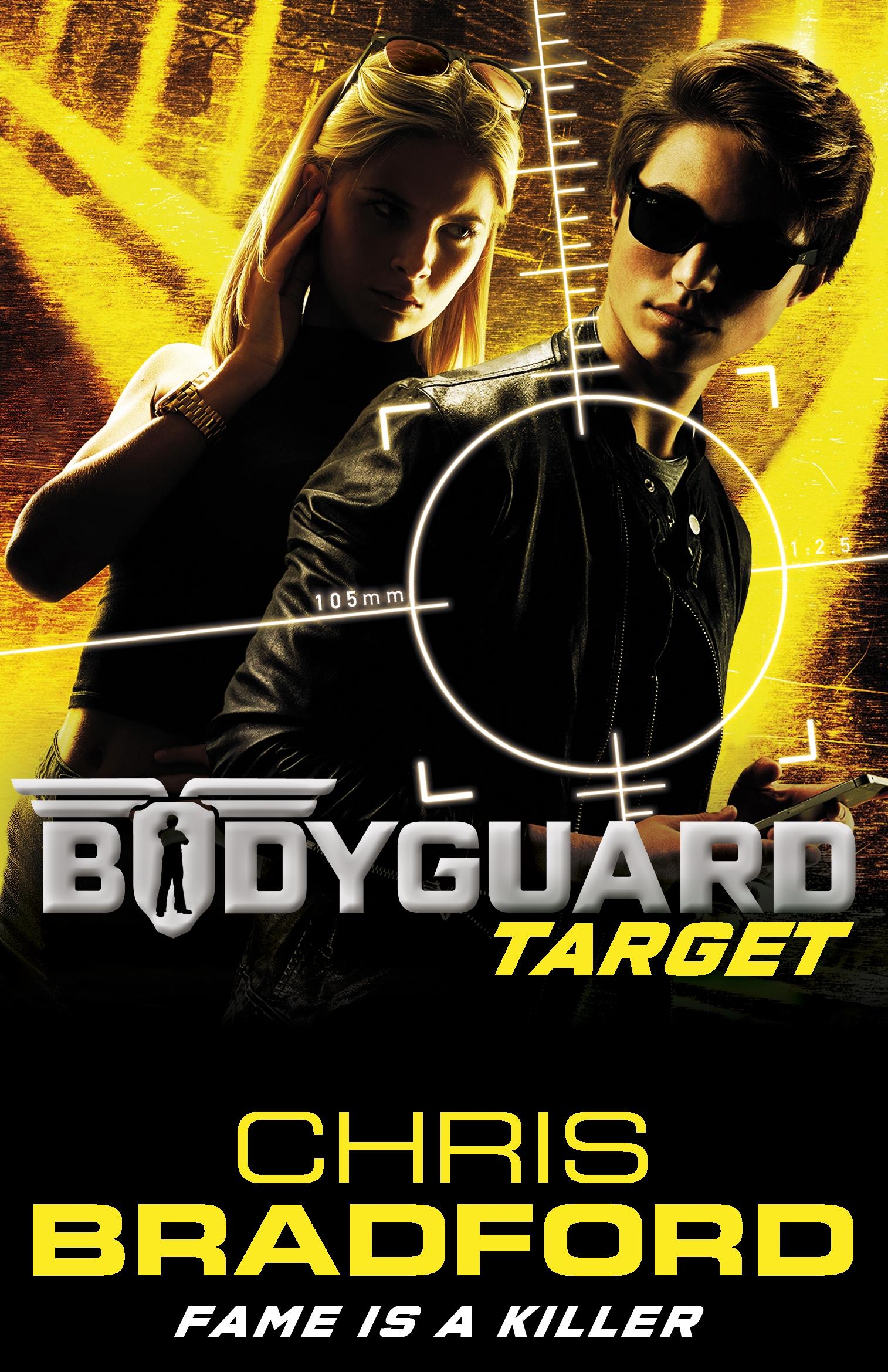 Book Covering Contact Target : Bodyguard target by bradford chris penguin random