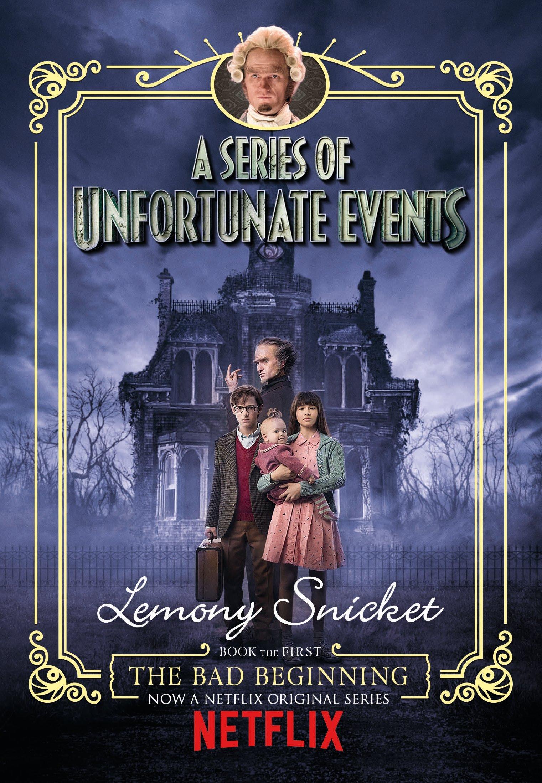 Book Cover Series Netflix : Series of unfortunate events bad beginning netflix